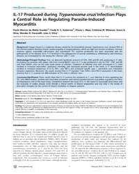 Plos Neglected Tropical Diseases : Il-17... by Correa-oliveira, Rodrigo