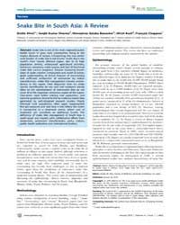 Plos Neglected Tropical Diseases : Snake... by Silva, Janaka De
