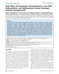 Plos Neglected Tropical Diseases : High ... by Walker, David, H.