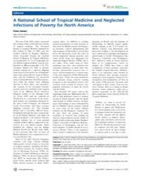 Plos Neglected Tropical Diseases : a Nat... by Hotez, Peter