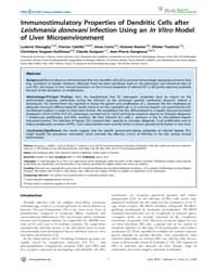 Plos Neglected Tropical Diseases : Immun... by Rodriguez, Ana
