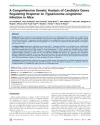 Plos Neglected Tropical Diseases : a Com... by Tschudi, Christian