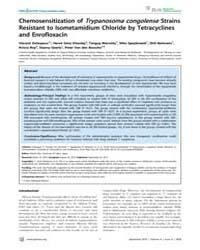 Plos Neglected Tropical Diseases : Chemo... by Kita, Kiyoshi