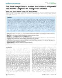 Plos Neglected Tropical Diseases : the R... by Vinetz, Joseph, M.