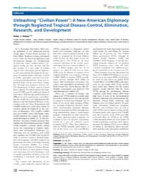 Plos Neglected Tropical Diseases : Unlea... by Hotez, Peter J.