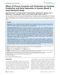 Plos Neglected Tropical Diseases : Effec... by Walson, Judd L.