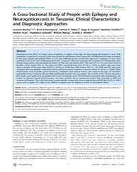 Plos Neglected Tropical Diseases : a Cro... by Flisser, Ana