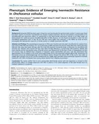 Plos Neglected Tropical Diseases : Pheno... by Lustigman, Sara