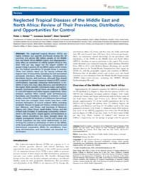 Plos Neglected Tropical Diseases : Negle... by Aksoy, Serap