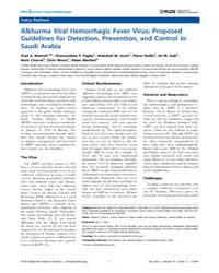 Plos Neglected Tropical Diseases : Alkhu... by Bausch, Daniel, G.