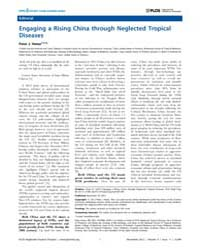Plos Neglected Tropical Diseases : Engag... by Hotez, Peter, J.