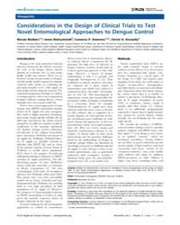 Plos Neglected Tropical Diseases : Consi... by Kittayapong, Pattamaporn