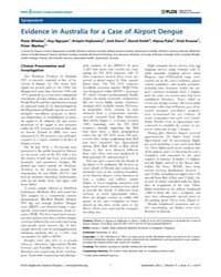 Plos Neglected Tropical Diseases : Evide... by Gubler, Duane J.