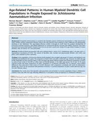 Plos Neglected Tropical Diseases : Age-r... by Correa-oliveira, Rodrigo
