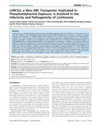 Plos Neglected Tropical Diseases : Labcg... by Milon, Genevieve