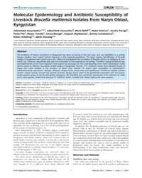 Plos Neglected Tropical Diseases : Molec... by Picardeau, Mathieu