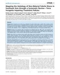 Plos One : Mapping the Aetiology of Non-... by Bassat, Quique