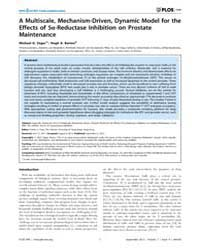 Plos One : a Multiscale, Mechanism-drive... by Chan, Franky L.