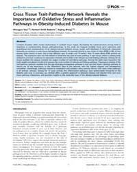 Plos One : Cross Tissue Trait-pathway Ne... by Colombo, Gualtiero