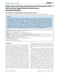 Plos One : Pi3KC Drives Priming and Surv... by Meuth, Sven G.