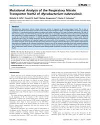 Plos One : Mutational Analysis of the Re... by Kaushal, Deepak