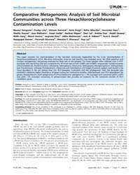 Plos One : Comparative Metagenomic Analy... by Brayton, Kelly A.