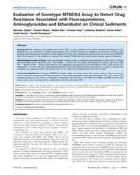 Plos One : Evaluation of Genotype Mtbdrs... by Dheda, Keertan