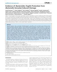 Plos One : Evidence of Bacteroides Fragi... by Heimesaat, Markus, M.