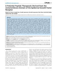 Plos One : a Potential Peptide Therapeut... by Gartel, Andrei, L.