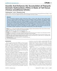 Plos One : Ascorbic Acid Enhances the Ac... by Pant, Aditya, Bhushan