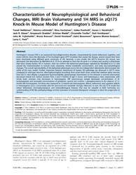 Plos One : Characterization of Neurophys... by Okazawa, Hitoshi