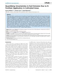 Plos One : Quantifying Uncertainties in ... by Bernacchi, Carl, J.