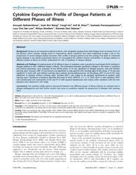 Plos One : Cytokine Expression Profile o... by Kallas, Esper G.