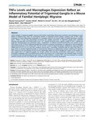 Plos One : Tnfα Levels and MacRophages E... by Bereswill, Stefan