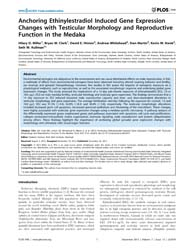 Plos One : Anchoring Ethinylestradiol In... by Semsey, Szabolcs
