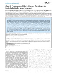 Plos One : Class II Phosphoinositide 3-k... by Mohanraj, Rajesh