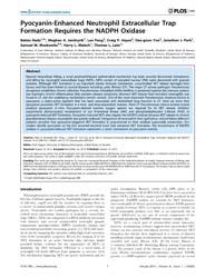 Plos One : Pyocyanin-enhanced Neutrophil... by Gaggar, Amit