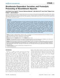 Plos One : Bicarbonate-dependent Secreti... by Addison, Christina, Lynn
