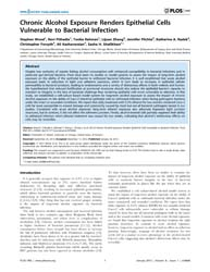 Plos One : Chronic Alcohol Exposure Rend... by Weber, Christopher, R.