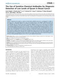 Plos One : the Use of Sensitive Chemical... by Lebedeva, Irina V.