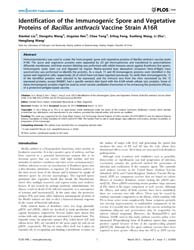 Plos One : Identification of the Immunog... by Hozbor, Daniela Flavia