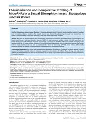 Plos One : Characterization and Comparat... by Mott, L. Justin