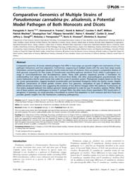 Plos One : Comparative Genomics of Multi... by Cascales, Eric
