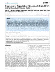 Plos One : Occurrence of Regulated and E... by Zhou, Zhi
