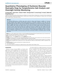 Plos One : Quantitative Phenotyping of D... by McNeil, Paul