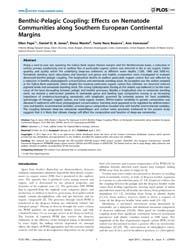 Plos One : Benthic-pelagic Coupling ; Ef... by Ferse, A. C. Sebastian