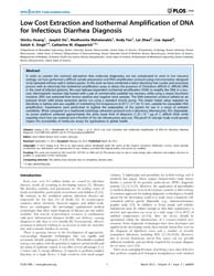 Plos One : Low Cost Extraction and Isoth... by Nübel, Ulrich