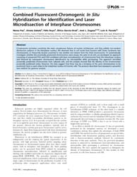 Plos One : Combined Fluorescent-chromoge... by Anthony, W.I. Lo