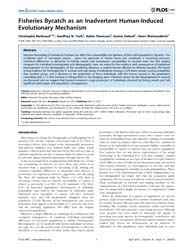 Plos One : Fisheries Bycatch as an Inadv... by Sébastien Descamps