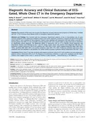 Plos One : Diagnostic Accuracy and Clini... by Moretti, Claudio